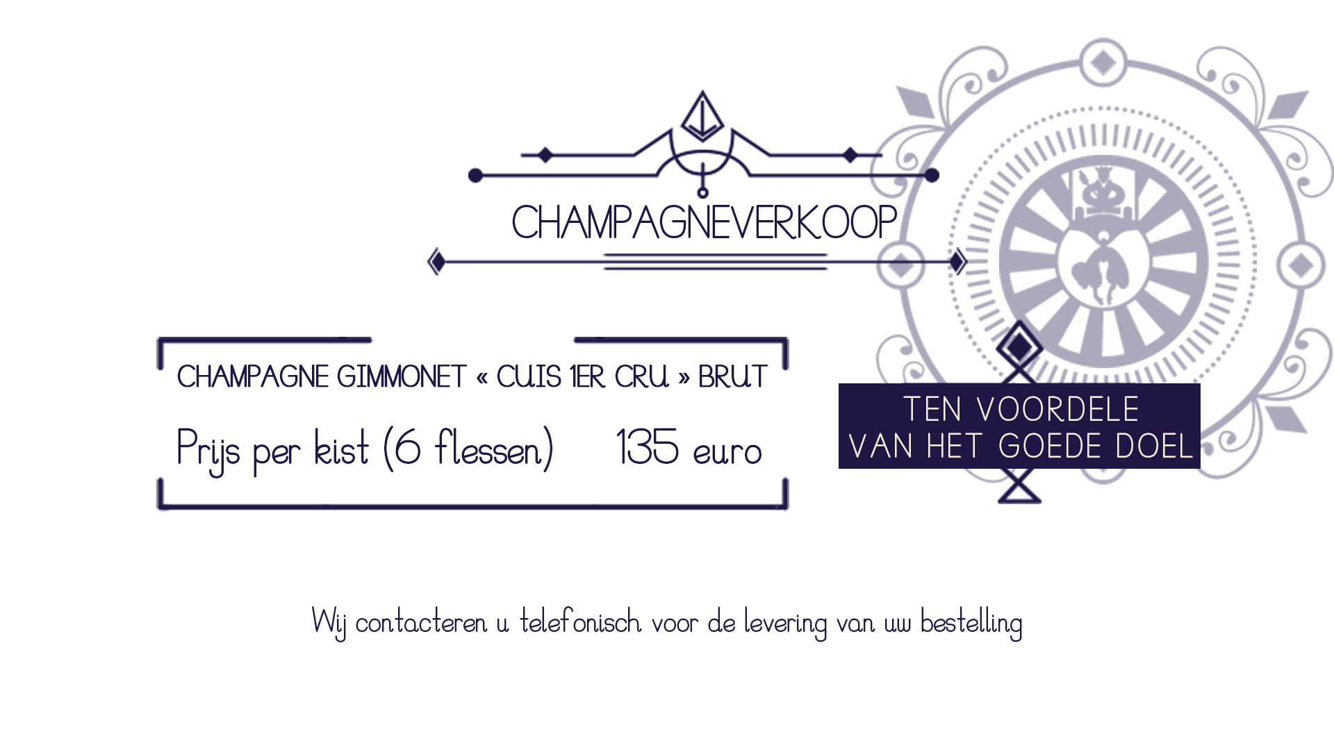 champagneverkoop